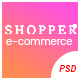 SHOPPER - Multipurpose eCommerce PSD Template - ThemeForest Item for Sale