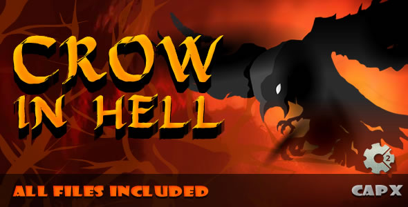 Crow in Hell - (.CAPX & .HTML) Game! - CodeCanyon Item for Sale