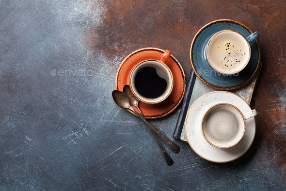 Coffee cups - Stock Photo - Images
