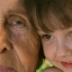Grandmother with Granddaughter. - VideoHive Item for Sale