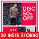 30 Instagram Stories Ads Bundle