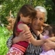Happy Grandmother with Granddaughters - VideoHive Item for Sale