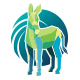 Green Donkey Logo - GraphicRiver Item for Sale