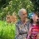 Grandma with a Granddaughter - VideoHive Item for Sale