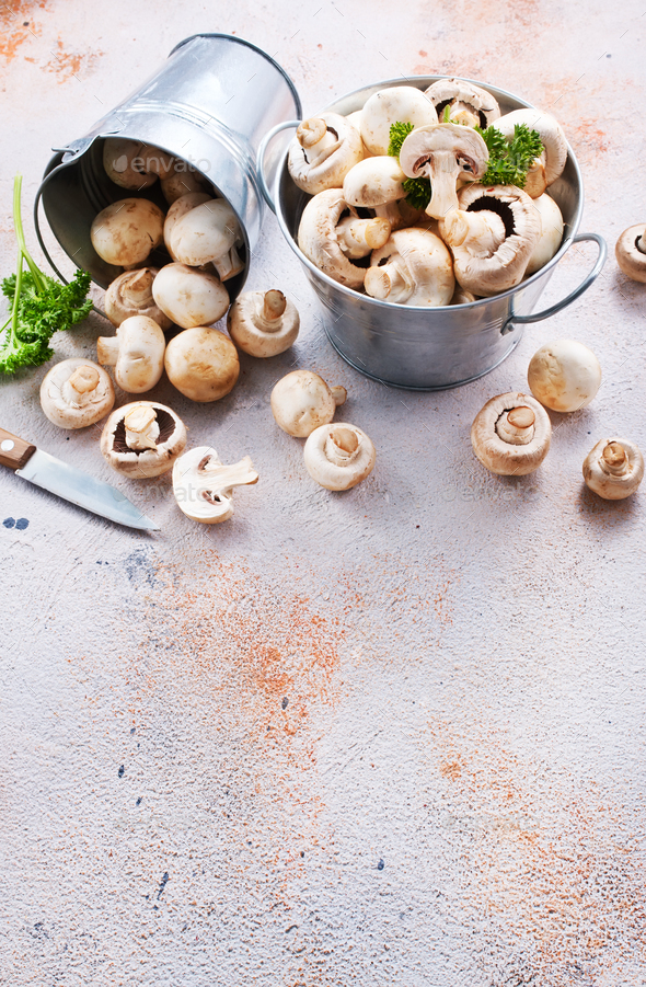champignons - Stock Photo - Images