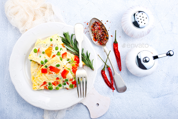 omelette - Stock Photo - Images