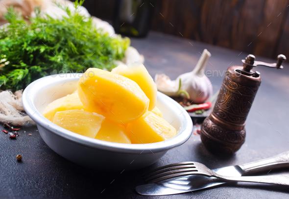mashed potato - Stock Photo - Images