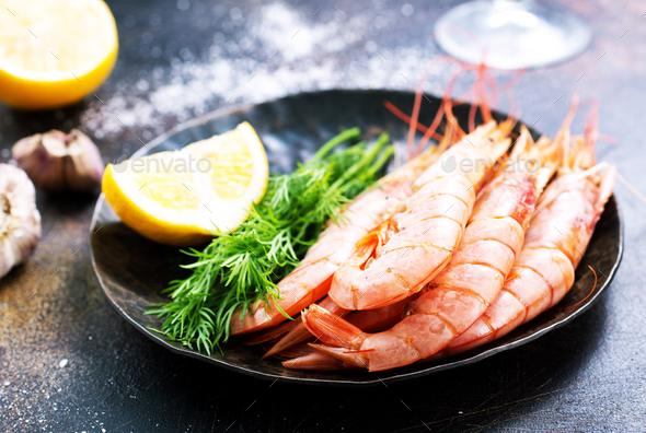 shrimps - Stock Photo - Images