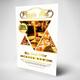 Food Menu Restuarant Flyer - GraphicRiver Item for Sale
