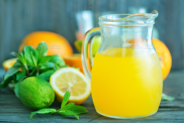 fresh juice - Stock Photo - Images
