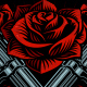 Guns and Roses Design. - GraphicRiver Item for Sale