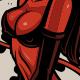 Rockabilly devil girl - GraphicRiver Item for Sale