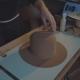 Designer Makes a Felt Hat. Fedora Hat - VideoHive Item for Sale