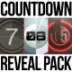 Countdown logo reveal pack - VideoHive Item for Sale