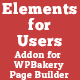 Elements for Users - Addon for WPBakery Page Builder (formerly Visual Composer) - CodeCanyon Item for Sale