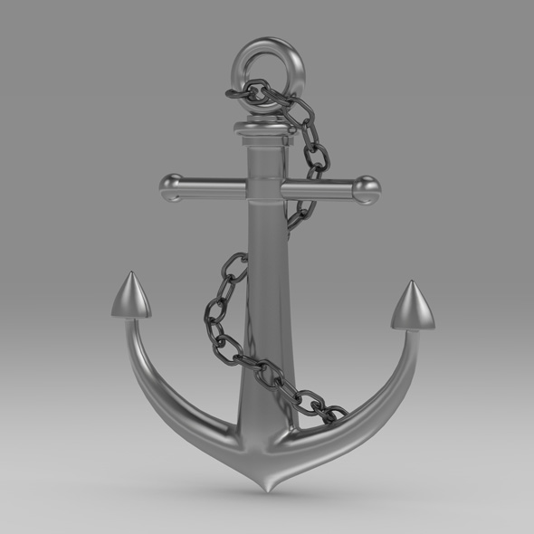 Anchor 2 - 3DOcean Item for Sale