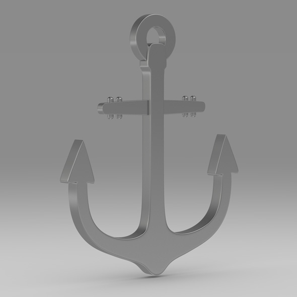 Anchor 6 - 3DOcean Item for Sale