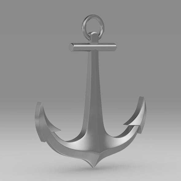 Anchor 8 - 3DOcean Item for Sale