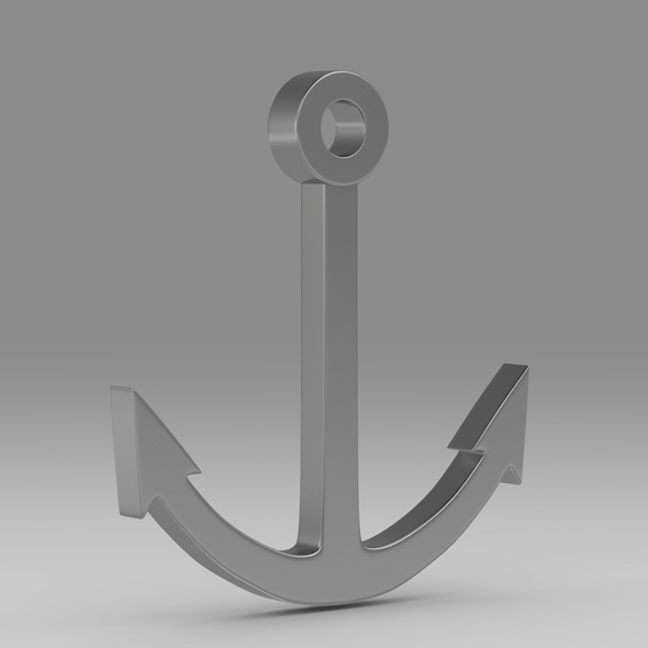 Anchor 12 - 3DOcean Item for Sale