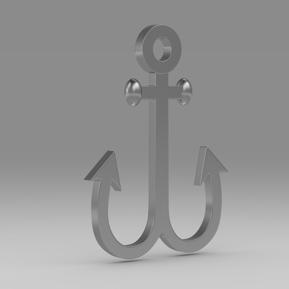 Anchor 13 - 3DOcean Item for Sale
