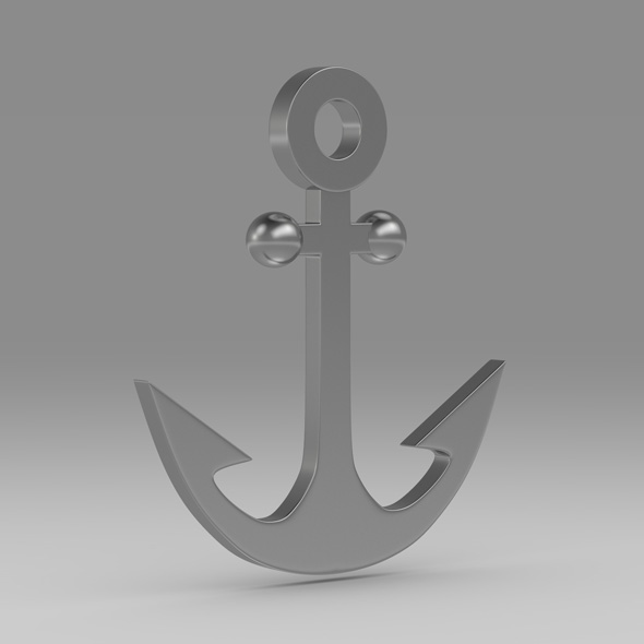 Anchor 14 - 3DOcean Item for Sale