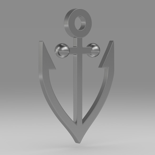Anchor 15 - 3DOcean Item for Sale