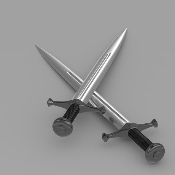 Sword 4 - 3DOcean Item for Sale