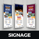 Travel Rollup Banner Signage Design v2 - GraphicRiver Item for Sale