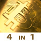 Bitcoin Logo Pack - VideoHive Item for Sale