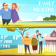 Families Horizontal Banners
