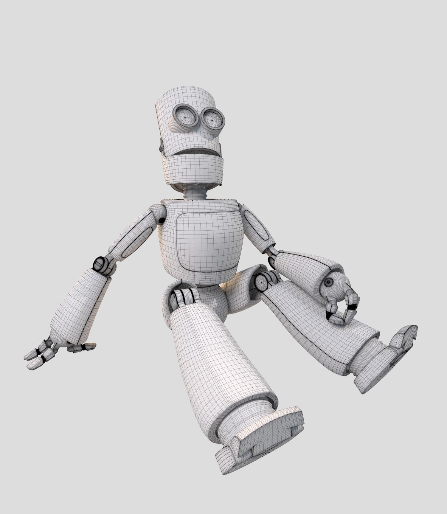 Robot. Orange robot by Gizart89   3DOcean
