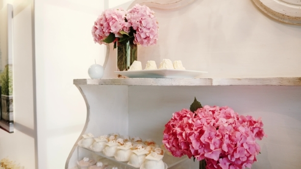White Candy Bar Wedding, Candy Buffet by AndriyASD | VideoHive