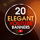 YouTube Bundle - 20 Elegant Banners