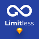 Limitless - Massive set of layouts and UI components for Sketch - ThemeForest Item for Sale