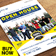College Open House Flyer - GraphicRiver Item for Sale