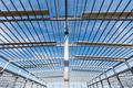 steel structure workshop closeup - PhotoDune Item for Sale