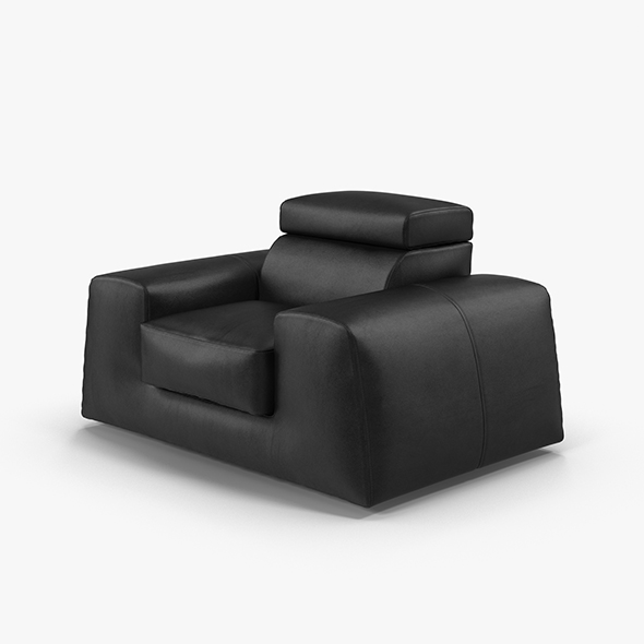 Leather armchair BOSS - 3DOcean Item for Sale