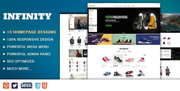 Infinity - Responsive Magento 2 Fashion Store Theme - Shopping Magento