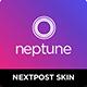 Neptune - Nextpost Instagram Skin - CodeCanyon Item for Sale