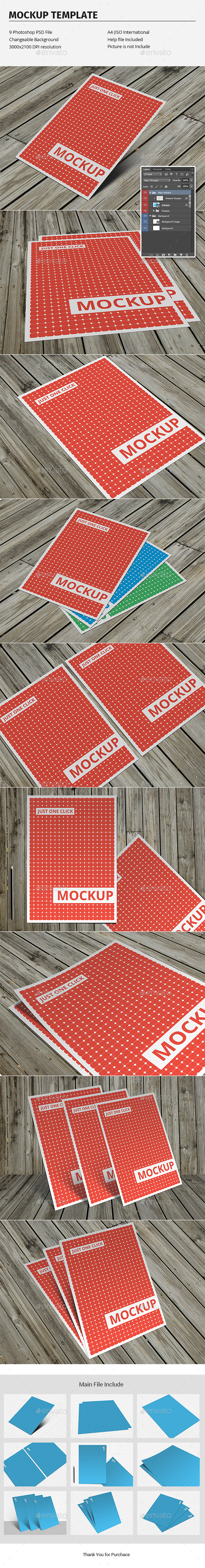 Flyer Mockup Template - Flyers Print