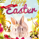 Happy Easter Church Flyer - GraphicRiver Item for Sale