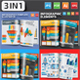 3 in 1 Infographics Design - GraphicRiver Item for Sale