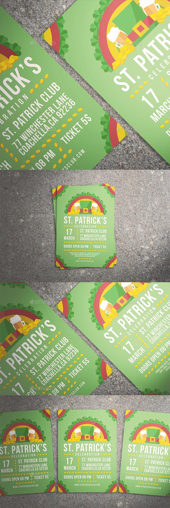 Saint Patrick's Day Celebration Set - Holidays Events