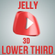 3D Jelly Rubber Social Media Lower Thirds Pack