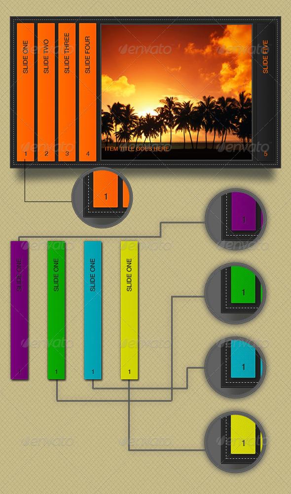 Retro Slider - Sliders & Features Web Elements