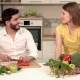 Couple Cooks Healthy Meal - VideoHive Item for Sale