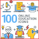 Education Icons - GraphicRiver Item for Sale