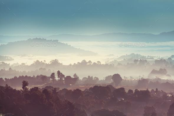 Guatemala landscapes - Stock Photo - Images
