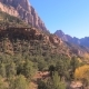 Movement, View From The Car On A High Red Mountain Zion National Park - VideoHive Item for Sale