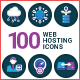 Hosting Icons - GraphicRiver Item for Sale